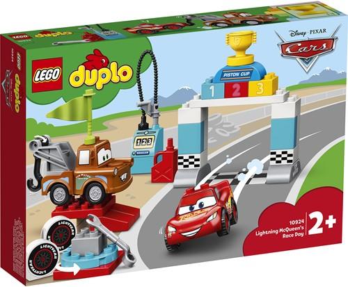 LEGO DUPLO Disney Bliksem McQueen's racedag - 10924