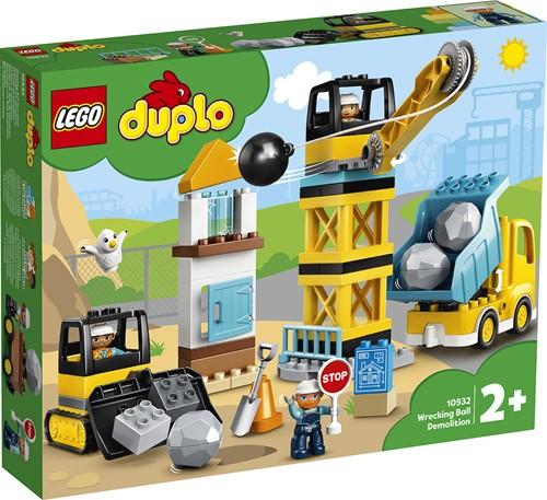 LEGO DUPLO Mijn Stad 10932 Sloopkogel Afbraakwerken