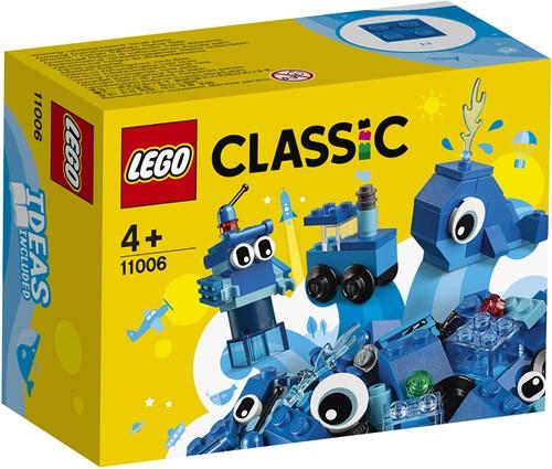 LEGO Classic Creatieve blauwe stenen - 11006
