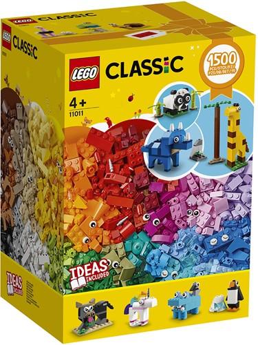 LEGO Classic Stenen en dieren - 11011