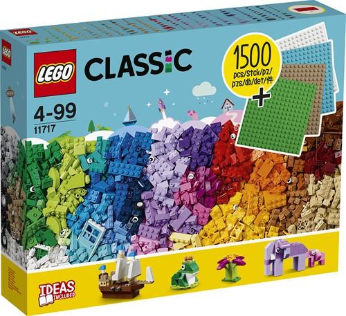 LEGO Classic Stenen en bouwplaten - 11717