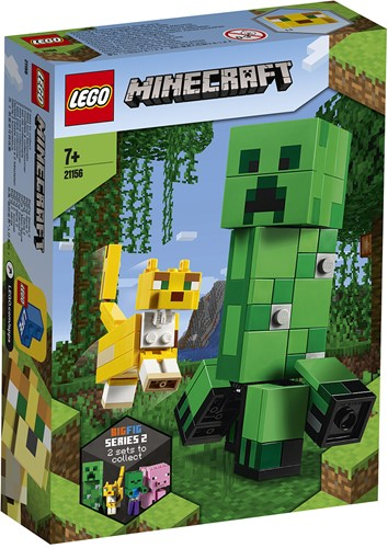 LEGO Minecraft™ BigFig Creeper™ en Ocelot - 21156