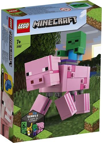 LEGO Minecraft™ BigFig Varken met Babyzombie - 21157