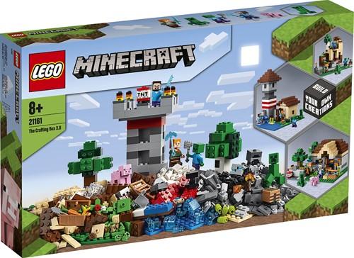 LEGO Minecraft™ 21161 The Crafting box 3.0