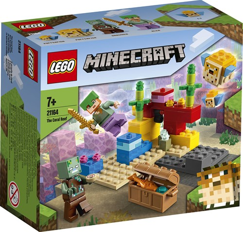 LEGO Minecraft™ The Coral Reef - 21164