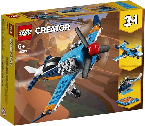 LEGO Creator Propellervliegtuig - 31099