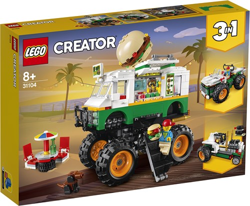 LEGO Creator Hamburger Monstertruck - 31104