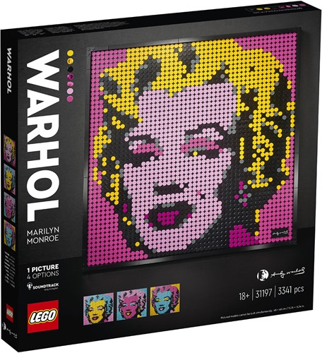 LEGO Art Andy Warhol's Marilyn Monroe - 31197