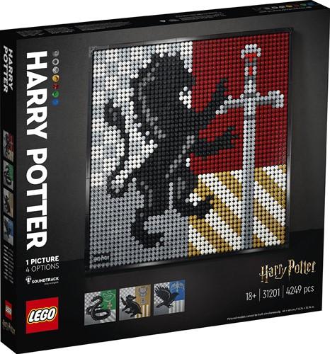 LEGO Art Harry Potter™ Hogwarts™ Crests - 31201