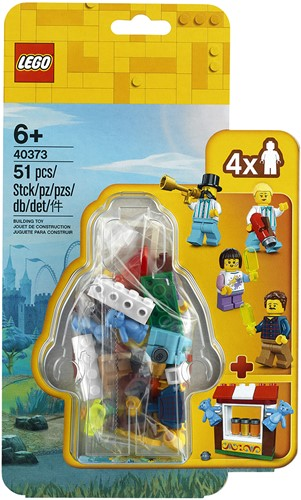 LEGO Minifigures 40373 Kermis MF accessoireset