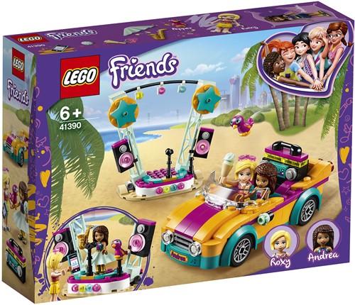 LEGO Friends 41390 Andrea's auto en podium