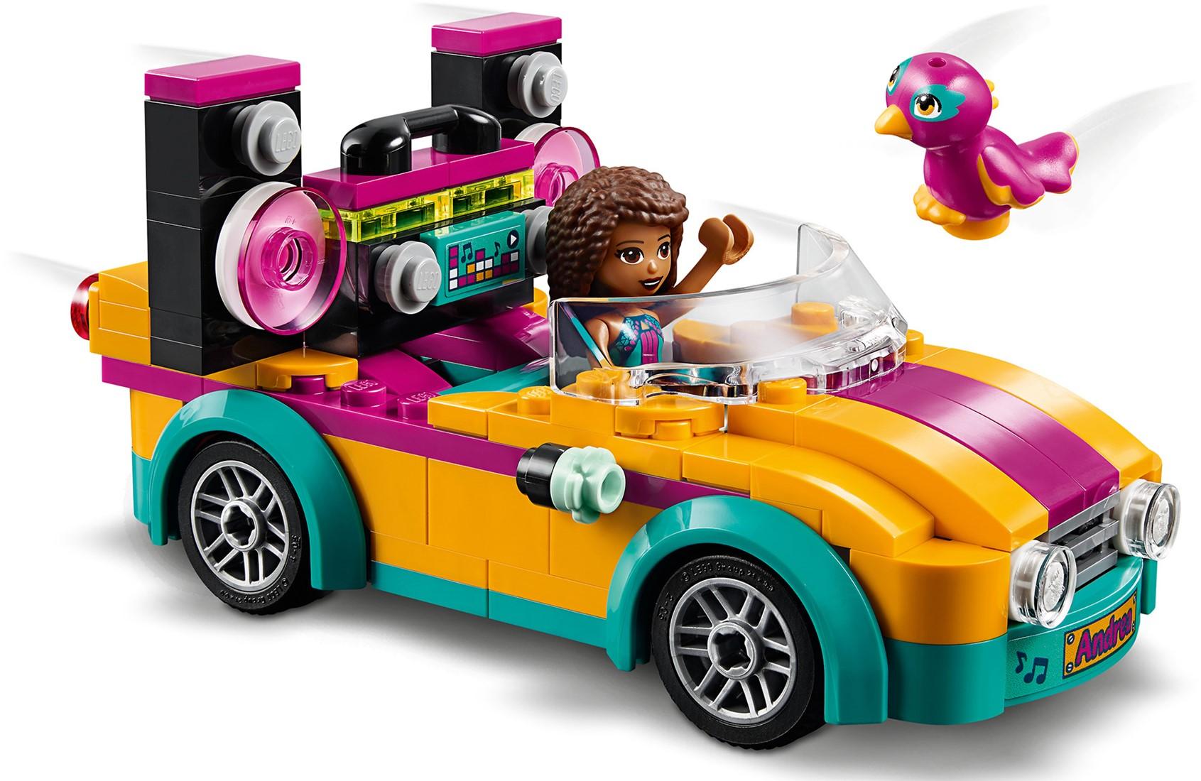 LEGO Friends 41390 Andrea's auto en podium   Uw speelgoed en