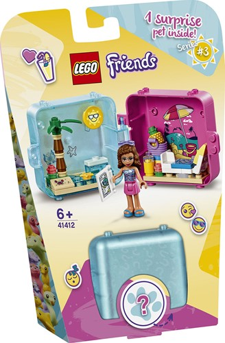 LEGO Friends 41412 Olivia's zomerspeelkubus