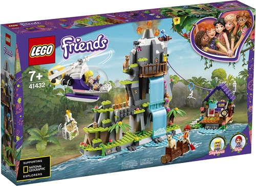 LEGO Friends Alpaca berg jungle reddingsactie - 41432