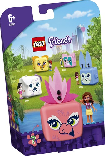LEGO Friends Olivia's Flamingokubus - 41662