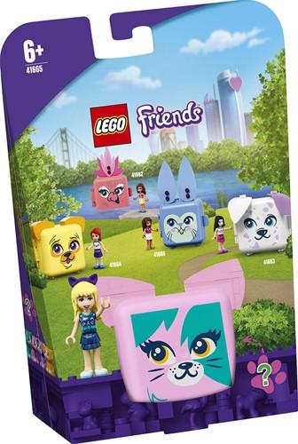 LEGO Friends Stephanie's kattenkubus - 41665