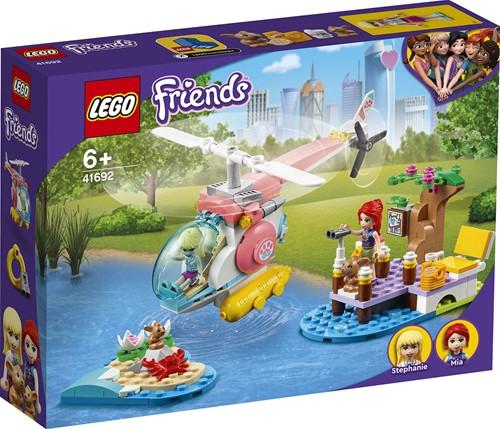 LEGO Friends Dierenkliniek reddingshelikopter - 41692