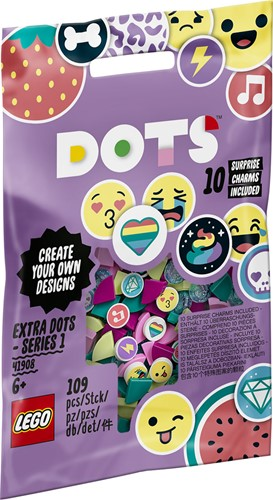 LEGO DOTS Extra DOTS - serie 1 - 41908