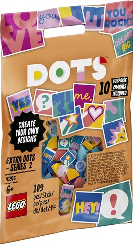 LEGO DOTS 41916 Extra DOTS - serie 2