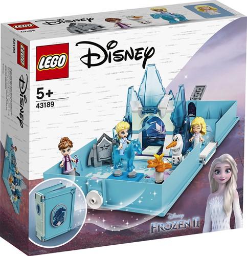 LEGO Disney Frozen II Elsa en de Nokk verhalenboekavonturen - 43189