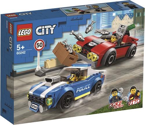 LEGO City Politiearrest op de snelweg - 60242