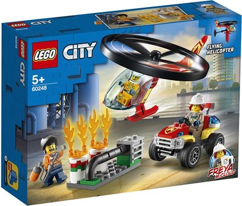 LEGO City Brandweerhelikopter reddingsoperatie - 60248
