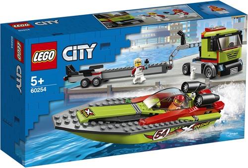 LEGO City Raceboottransport - 60254