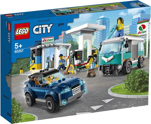 LEGO City Benzinestation - 60257
