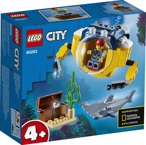 LEGO City Oceaan Mini-Duikboot - 60263