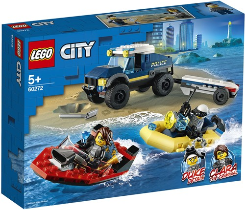 LEGO City Elite politieboot transport - 60272