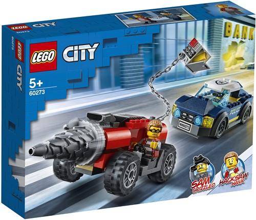 LEGO City Elite Politie achtervolging boorder- 60273