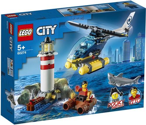 LEGO City 60274 Elite Politie vuurtoren aanhouding