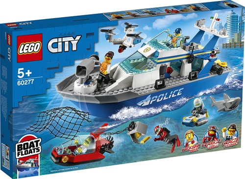 LEGO City Politie patrouilleboot - 60277