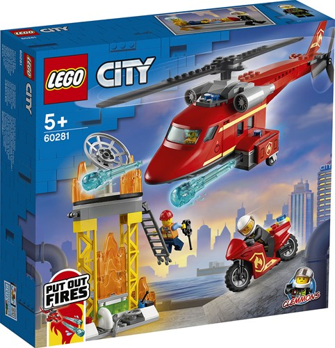 LEGO City Reddingshelikopter - 60281