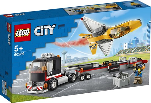 LEGO City Vliegshowjettransport - 60289