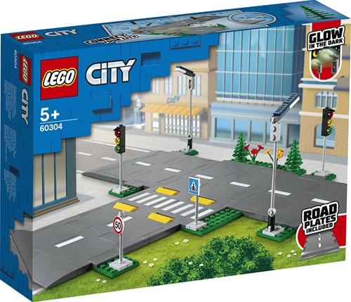 LEGO City Wegplaten - 60304