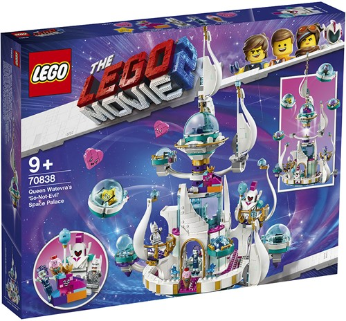 The LEGO® Movie-2™ Koningin Wiedanook Watdanooks 'echt-niet-kwaadaardige' ruimtepaleis - 70838