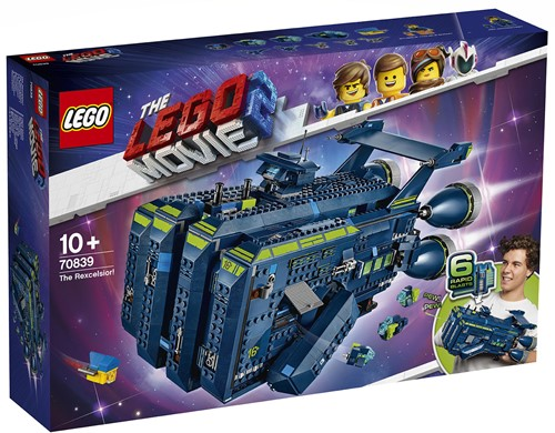 The LEGO® Movie 2™ The Rexcelsior! - 70839
