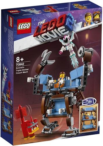 The LEGO® Movie 2™ Emmet's mecha met een zitbank met drie verdiepingen - 70842