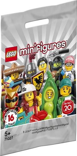 LEGO Minifigures Serie 20 - 1 stuks - 71027