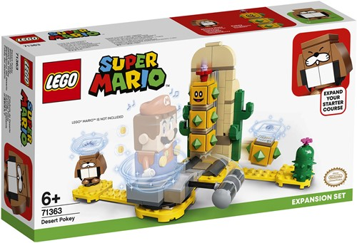 LEGO Super Mario Uitbreidingsset: Desert Pokey - 71363