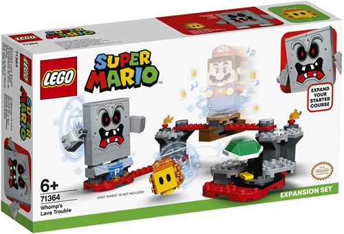 LEGO Super Mario™ Uitbreidingsset: Whomps lavafort - 71364
