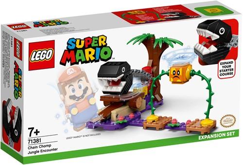 LEGO Super Mario™ Uitbreidingsset: Chain Chomp-junglegevecht - 71381