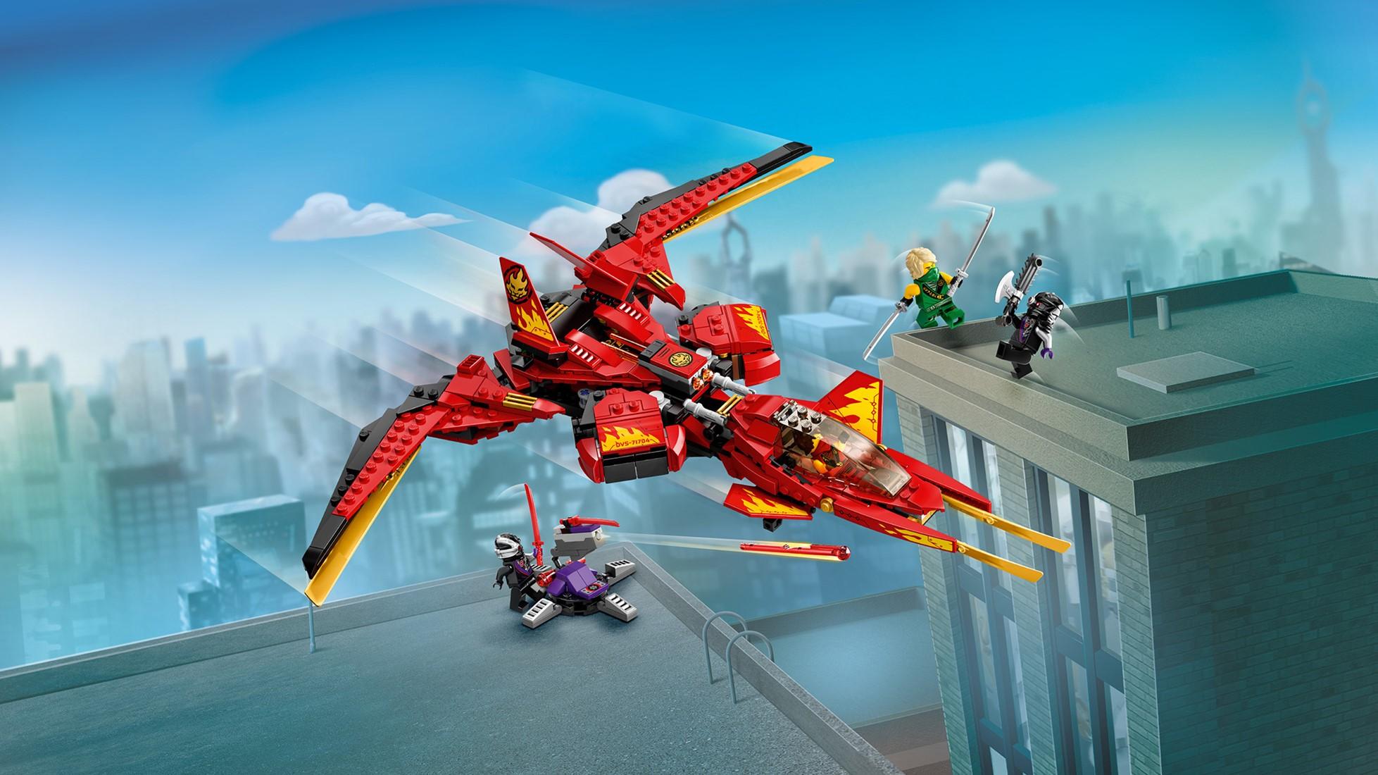 LEGO NINJAGO® 71704 Kai Fighter | Uw speelgoed en LEGO ...