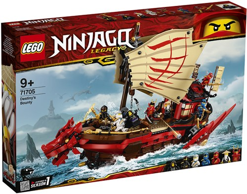 LEGO NINJAGO® 71705 Destiny's Bounty