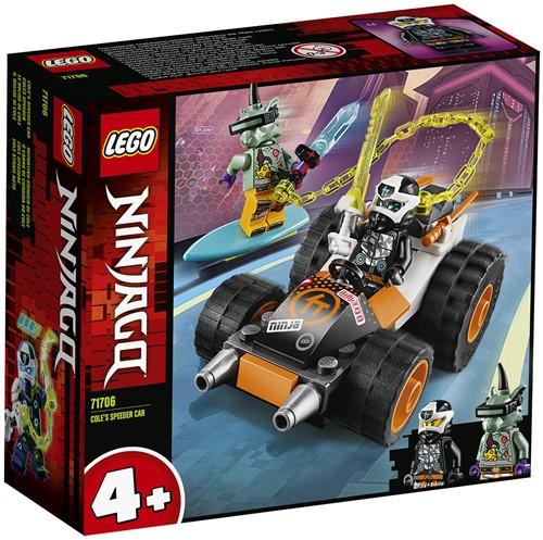 LEGO NINJAGO® Cole's Speederwagen- 71706