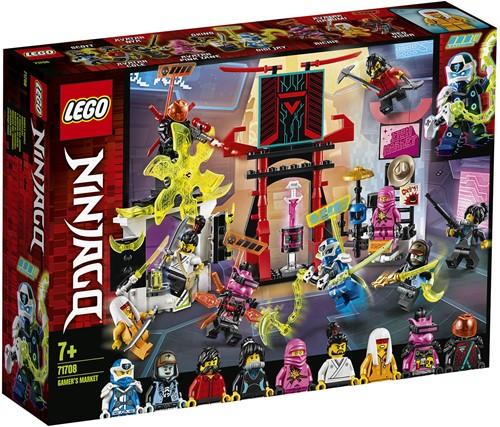 LEGO NINJAGO® Gamer's markt- 71708