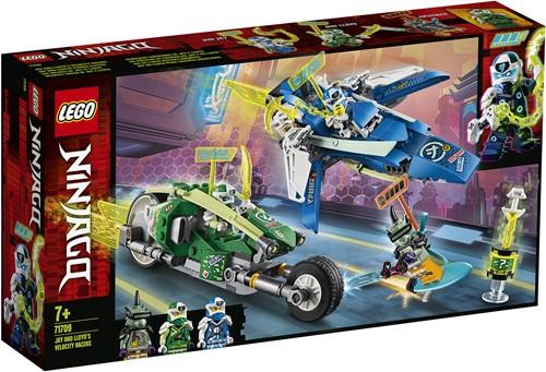 LEGO NINJAGO® Jay en Lloyd's supersnelle racers- 71709