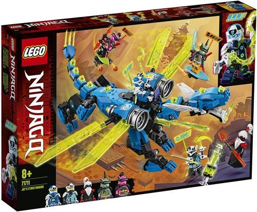 LEGO NINJAGO® Jay's cyberdraak - 71711
