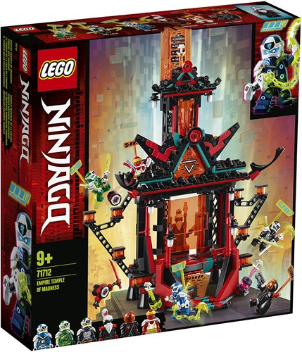 LEGO NINJAGO® Keizerrijk tempel van de waanzin - 71712